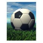 Soccer Ball (Football) Postcard