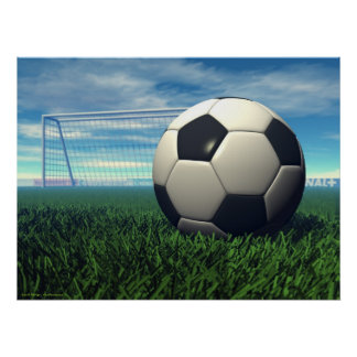 Soccer Ball (football) Poster