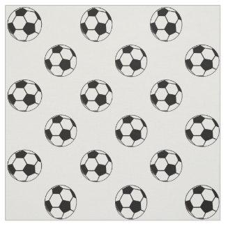 Soccer Ball Football Sports Theme Fabric