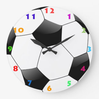 SOCCER BALL (FOOTBALL) Wall Clock