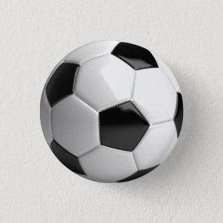 Soccer ball (futbol) pin / button - sports fan!