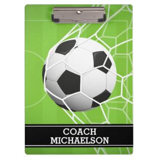 Soccer Ball GOAL for Coach, Team, Parent or Fan Clipboard