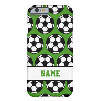Soccer Ball Green Personalized iPhone 6 Case