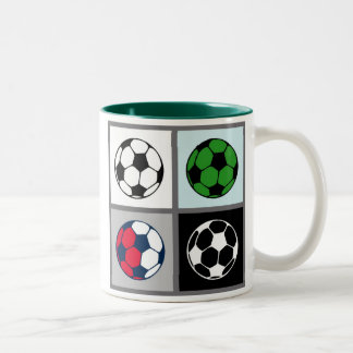 Soccer Ball Icon Mug