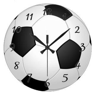 Soccer Ball Large Clock
