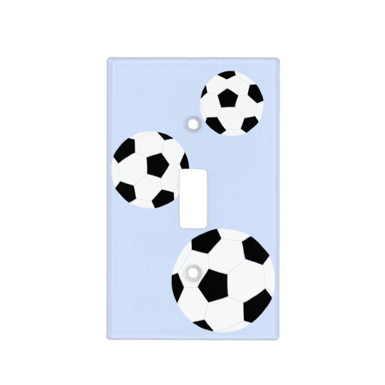 Soccer Ball Light Switch Cover