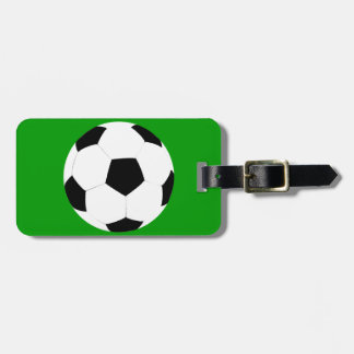 Soccer Ball Luggage Tag