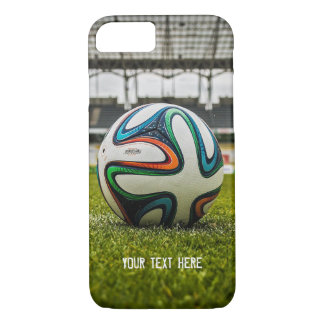 Soccer Ball on Soccer Field | Sport Cool Gifts iPhone 8/7 Case