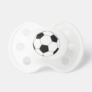 Soccer ball pacifier for baby