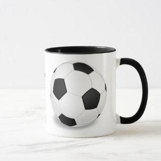 Soccer Ball Pattern Coffee Mug