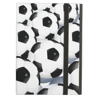 Soccer Ball Pattern Cover For iPad Air