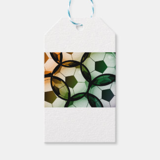 Soccer Ball Pattern Gift Tags