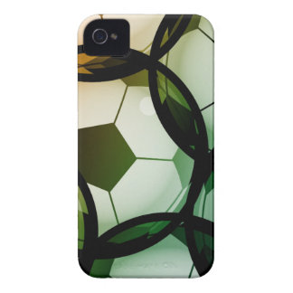 Soccer Ball Pattern iPhone 4 Case