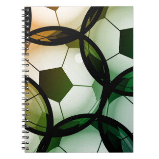 Soccer Ball Pattern Notebook