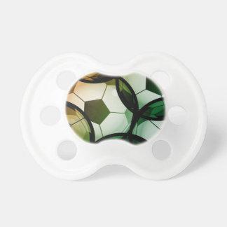 Soccer Ball Pattern Pacifier