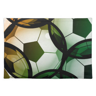 Soccer Ball Pattern Placemat