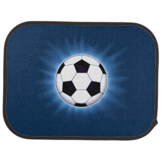 Soccer Ball Rear Car Mat