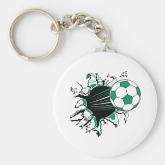 soccer ball ripping thru keychain