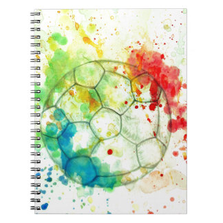 Soccer Ball Sketch01 Notebook