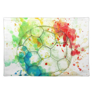 Soccer Ball Sketch01 Placemat