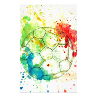 Soccer Ball Sketch01 Stationery