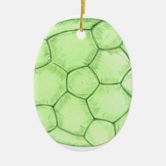 Soccer Ball Sketch 2 Ceramic Ornament