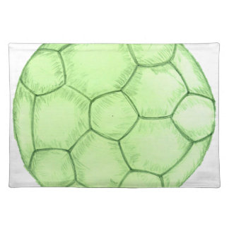 Soccer Ball Sketch 2 Placemat