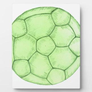 Soccer Ball Sketch 2 Plaque