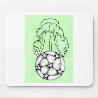 Soccer Ball Sketch 3 Mouse Pad