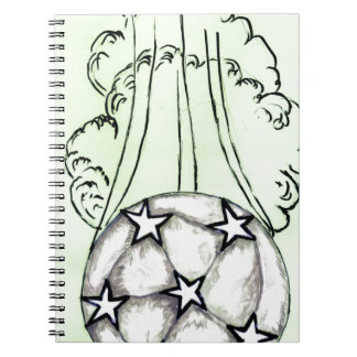 Soccer Ball Sketch 3 Notebook