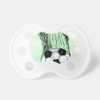Soccer Ball Sketch 4 Baby Pacifier