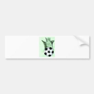 Soccer Ball Sketch 4 Bumper Sticker