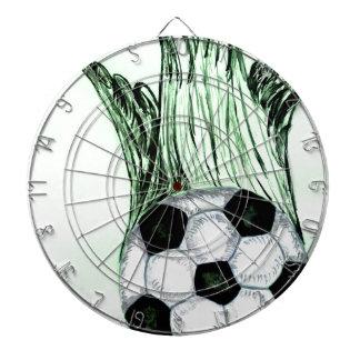 Soccer Ball Sketch 4 Dartboard