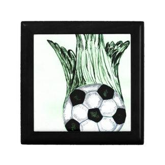Soccer Ball Sketch 4 Gift Box