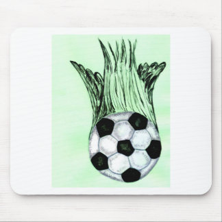 Soccer Ball Sketch 4 Mouse Pad