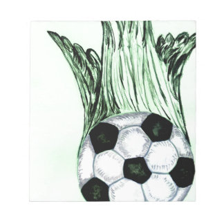 Soccer Ball Sketch 4 Notepad