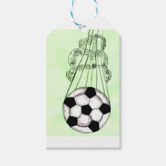 Soccer Ball Sketch 5 Gift Tags
