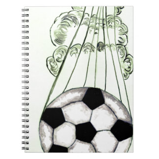 Soccer Ball Sketch 5 Notebook