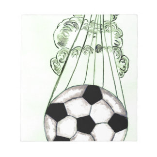 Soccer Ball Sketch 5 Notepad