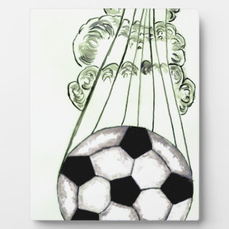 Soccer Ball Sketch 5 Plaque