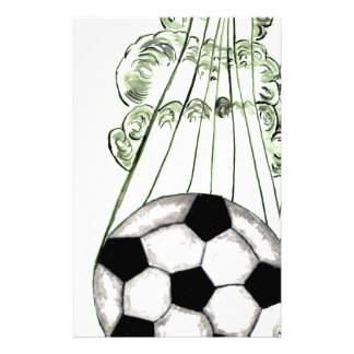 Soccer Ball Sketch 5 Stationery