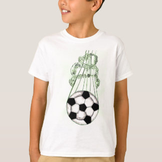 Soccer Ball Sketch 5 T-Shirt