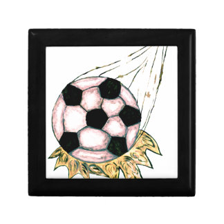 Soccer Ball Sketch Gift Box
