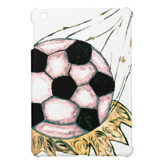 Soccer Ball Sketch iPad Mini Cases