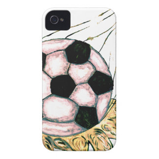 Soccer Ball Sketch iPhone 4 Cover