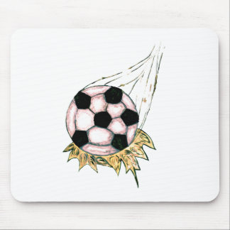 Soccer Ball Sketch Mouse Pad