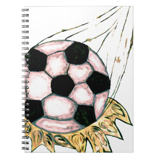 Soccer Ball Sketch Notebook