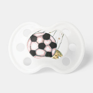 Soccer Ball Sketch Pacifiers