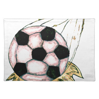 Soccer Ball Sketch Placemat