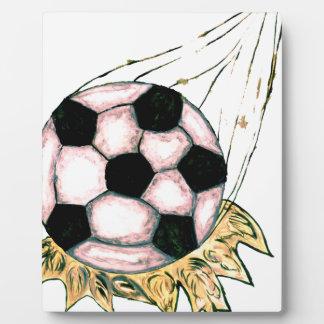 Soccer Ball Sketch Plaque